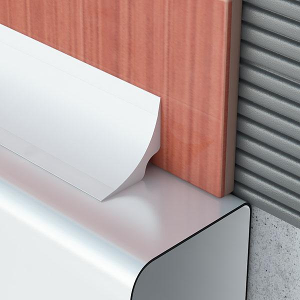 Προφίλ PVC μπάνιου / μπανιέρας
